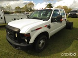 2010 Ford F350 Cab & Chassis, s/n 1FTWW3CYXAEA59718: 4-door, Auto, Odometer