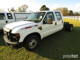 2009 Ford F350 Cab & Chassis, s/n 1FTWW32Y59EA09564: 4-door, Auto, Odometer