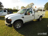 2008 Ford F350XL Truck, s/n 1FDSF34508EA93448: 2wd, Reading Utility Bed, La