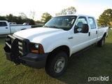 2006 Ford F350XL 4WD Truck, s/n 1FTWW31506ED70316: 4-door, LWB, Odometer Sh