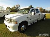 2003 Ford F550 Truck, s/n 1FDAW56P53EC29152: 4-door, Powerstroke Diesel, Au
