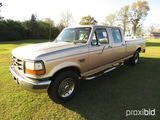 1997 Ford F350 Truck, s/n 1FTJW35FXVEC25036: Crew Cab, Powerstroke Diesel,