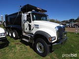 2019 Mack Granite GU713 Tri-axle Dump Truck, s/n 1M2AX07C7KM041250: MP8-455