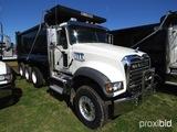 2019 Mack Granite GU713 Tri-axle Dump Truck, s/n 1M2AX07C9KM041248: MP8-455