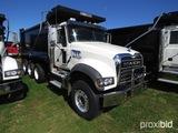 2019 Mack Granite GU713 Tri-axle Dump Truck, s/n 1M2AX07C0KM041249: MP8-455