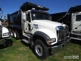 2019 Mack Granite GU713 Tri-axle Dump Truck, s/n 1M2AX07C9KM041251: MP8-455
