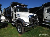 2019 Mack Granite GU713 Tri-axle Dump Truck, s/n 1M2AX07C7KM041247: MP8-455