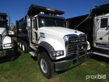 2018 Mack Granite GU713 Tri-axle Dump Truck, s/n 1M2AX07CXJM040057 (Title D
