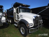 2018 Mack Granite GU713 Tri-axle Dump Truck, s/n 1M2AX07C8JM040056 (Title D
