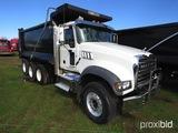 2018 Mack Granite GU713 Tri-axle Dump Truck, s/n 1M2AX07C4JM040054 (Title D