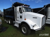 2015 Kenworth T800 Tri-axle Dump Truck, s/n 1NKDL40X5FJ429603: Cummins ISX1