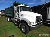 2012 Mack GU713 Tandem-axle Dump Truck, s/n 1M2AX04C6CM013770: MP7-405hp En