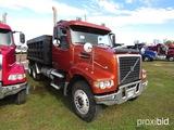 2008 Volvo VHD Tandem-axle Dump Truck, s/n 4V4KC9EJ48N489625 (Title Delay):