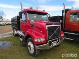 2008 Volvo VHD Tandem-axle Dump Truck, s/n 4V4KC9EJ88N489627 (Title Delay):
