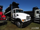 2007 Mack CV713 Tandem-axle Dump Truck, s/n 1M2AG11Y67M058171: 427hp Eng.,