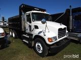 2007 Mack CV713 Dump Truck, s/n 1M2AG11Y17M052407: Maxitorque 9-sp., P/S, A