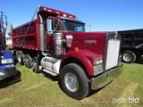 2007 Kenworth W900 Quad-axle Dump Truck, s/n 1NKWXBEX87J212459: 8LL, Odomet