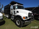 2006 Mack CV713 Tri-axle Dump Truck, s/n 1M2AG11CX6M029095 (Title Delay): M