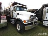 2005 Mack CV713 Tri-axle Dump Truck, s/n 1M2AG11C05M020050 (Title Delay): M
