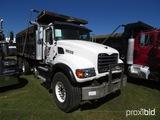 2005 Mack CV713 Tri-axle Dump Truck, s/n 1M2AG11C05M026334 (Title Delay): M