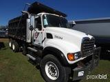2005 Mack CV713 Tri-axle Dump Truck, s/n 1M2AG11C45M026336 (Title Delay): M