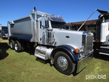 2005 Peterbilt 378 Tandem-axle Dump Truck, s/n 1NPFXBTX65N877461: Cat C15 E