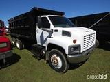 2004 GMC C8500 Tandem-axle Dump Truck, s/n 1GDT8C4C64F505440: Cat Diesel, E