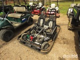 Shaller 2-seater Go Kart, s/n 7178 (No Title - $50 Trauma Care Fee Applies)