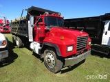 1998 Mack RD690S Tandem-axle Dump Truck, s/n 1M2P264C9WM025914: Mack EM7-30