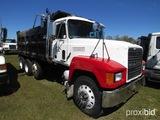 1998 Mack CH613 Tri-axle Dump Truck, s/n 1M1AA12Y7WW079067: Mack 350hp Eng.