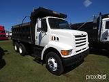 1998 Ford F800 Tandem-axle Dump Truck, s/n 1FDYW86F4WVA05883 (Title Delay):