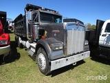 1991 Kenworth W900 Tandem-axle Dump Truck, s/n 1XKWDB9X4MS567353: 9-sp., 15