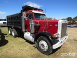 1985 Peterbilt 359 Tandem-axle Dump Truck, s/n 1XP9D29X3FN189664: 8-sp., 14