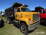 1985 GMC Brigadier Tandem-axle Dump Truck, s/n 1GDT9C4C5FV629284: 9-sp., He