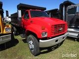 1998 Chevy Single-axle Dump Truck, s/n 1GBL7H1J6WJ108015: Cat 3116 6.6L Eng
