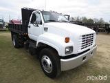 1997 GMC 6500 Single-axle Dump Truck, s/n 1GDK7H1M4VJ510031: 7.0 Gas Eng.,