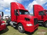 2012 Volvo D11 Truck Tractor, s/n 4V4M19DF3CN550631: S/A, 365hp, Eaton Full