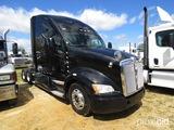 2011 Kenworth T700 Truck Tractor, s/n 1XKFD49X5BJ285060: Sleeper