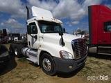 2011 Freightliner Cascadia Truck Tractor, s/n 1FUJGEDV1BSAY3086 (Title Dela