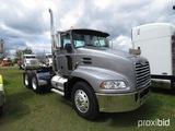 2008 Mack CXU613 Truck Tractor, s/n 1M1AW02Y28N001008: Day Cab, MP7 Eng., M