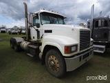 2008 Mack CHU613 Truck Tractor, s/n 1M1AN07Y08N001441: Maxitorque 10-sp., O