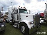 2007 Peterbilt 379 Truck Tractor, s/n 1XP5DB9X47D650361: Cat C15 Eng., 10-s