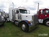 2007 Peterbilt 379 Truck Tractor, s/n 1XP5DB9X97D650405: Cat C15 Eng., 10-s