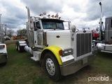 2007 Peterbilt 379 Truck Tractor, s/n 1XP5D49X47D732117: Day Cab, 10-sp.