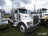 2007 Peterbilt 379 Truck Tractor, s/n 1XP5D49X07D732115: Day Cab, 10-sp.