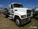 2007 Mack CHN613 Truck Tractor, s/n 1M1AJ06Y97N010523: T/A, 10-sp., Day Cab