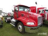 2007 Mack Vision CXN613 Truck Tractor, s/n 1M1AK06Y67N019645: AC380/410 Eng