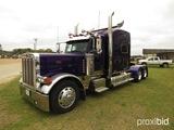 2006 Peterbilt 379X Truck Tractor, s/n 1XP5DB9X36D894534: Cat C15 625hp Eng