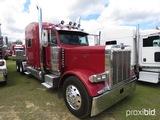 2006 Peterbilt 379 Truck Tractor, s/n 1XP5DB9X16N645935: Ext. Hood, Cat 475