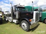 2005 Peterbilt 379 Truck Tractor, s/n 1XP5DB9X85N846407: T/A, Day Cab, Cat